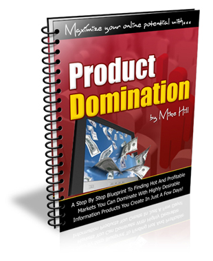 Product Domination graphic