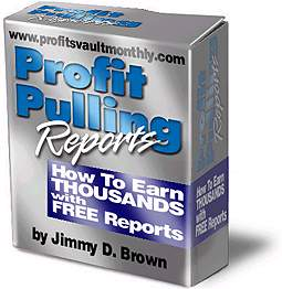 Profit Pulling Reports cover graphic