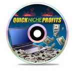 Quick Niche Profits virtual cover and CD