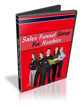 Sales Funnel Setup For Newbies virtual cover