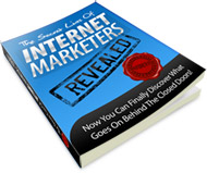 The Secret Lives Of Internet Marketers Revealed virtual cover