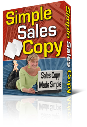 Simple Sales Copy box graphic