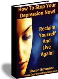 Cover graphic - How to Stop Your Depression Now!