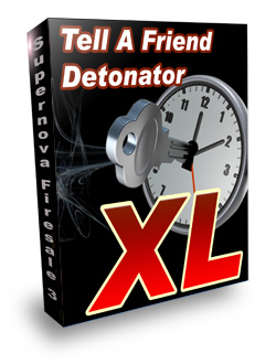 Tell A Friend Detonator XL Box Graphic