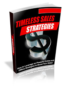 Timeless Sales Strategies virtual cover