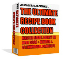 Cover: The Ultimate Recipe Book Collection