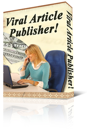Viral Article Publisher box graphic