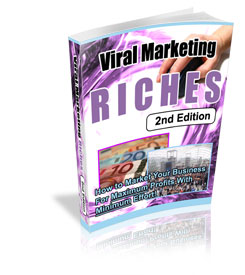 Viral Marketing Riches cover graphic