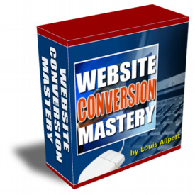 Website Conversion Mastery cover graphic