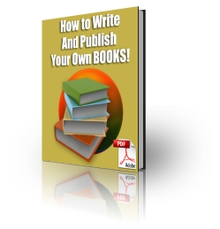 How To Write and Publish Your Own Books virtual cover